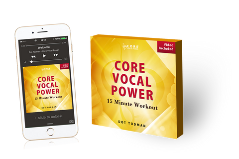 CORE Vocal Power 15 Minute Workout