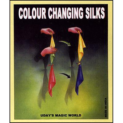 Color Changing Hanky, Magic, Magic Makers, T. Myers Magic Inc. - T. Myers Magic Inc.