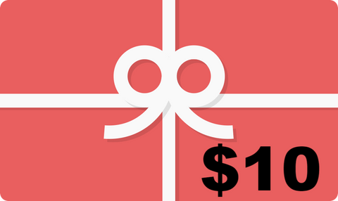$10 Gift Card, Gift Card, T. Myers Magic Inc., T. Myers Magic Inc. - T. Myers Magic Inc.