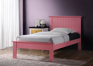 ACME Prentiss Queen Bed Pink - 25430Q-Platform Beds-HipBeds.com