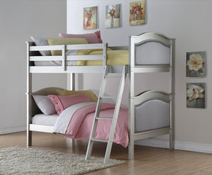 Donco Kids T/T Hollywood Bunk Bed Silver 323-TTPS-Bunk Beds-HipBeds.com
