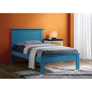 ACME Prentiss Full Bed Blue - 25443F-Platform Beds-HipBeds.com
