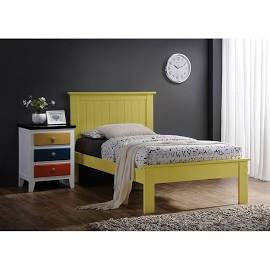 ACME Prentiss Full Bed Yellow - 25423F-Platform Beds-HipBeds.com