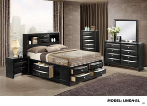 Global Furniture Chest Black-Chests-HipBeds.com