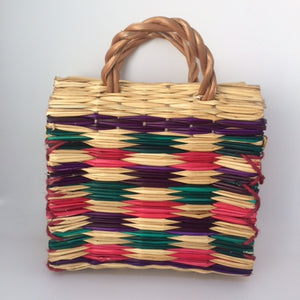 Small Tropical Reed Handbag