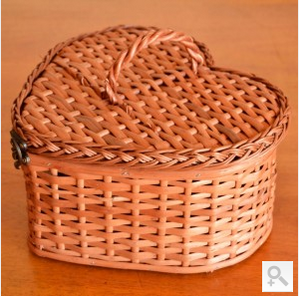 Heart Basket Bag