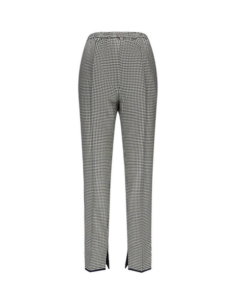 Golden Goose Deluxe Brand Checked Trousers G35Wp019A2