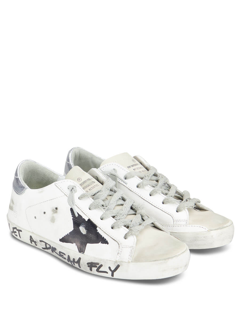 Golden Goose Deluxe Brand Women's Giulio Fashion White Superstar Sneakers G35WS590Q27
