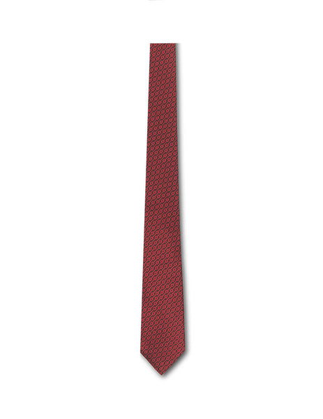 Gucci Men's Red G Monogram Silk Tie 5718054E0026074