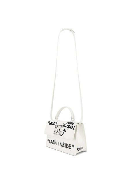 Off-White Women's White Leather 1.4 Jitney Bag OWNA092E197191080210