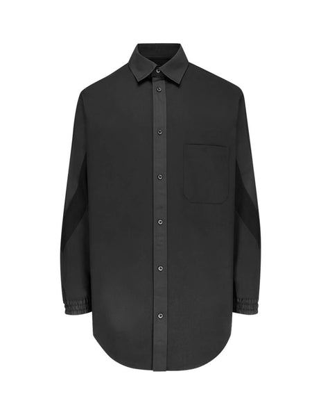 Y-3 Men's Giulio Fashion Black Varsity Shirt FJ0469