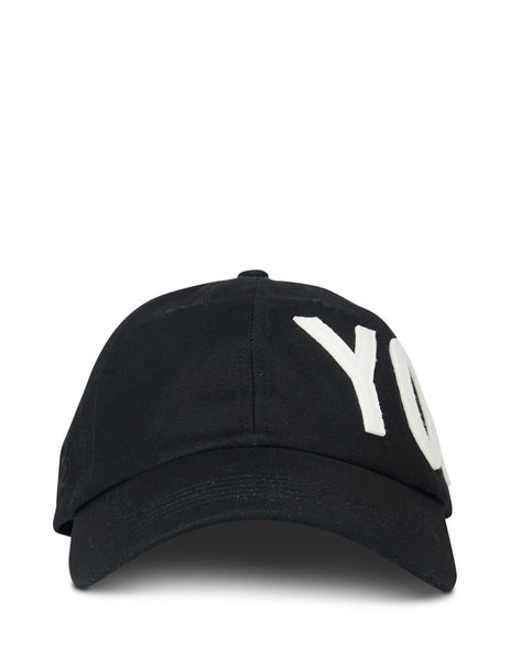 Y-3 Men's Giulio Fashion Black Yohji Cap FH9271