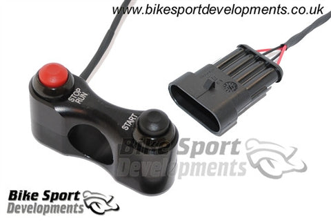 Aprilia RSV4 2009> Race/Track Bike Handlebar Switch Assembly - Stop/Run and Start