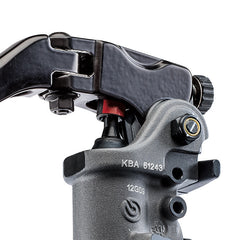 Brembo Radial RCS19 Front Brake Master Cylinder (19mm Bore, Adjustable 18/20 Ratio with Long Folding Lever)