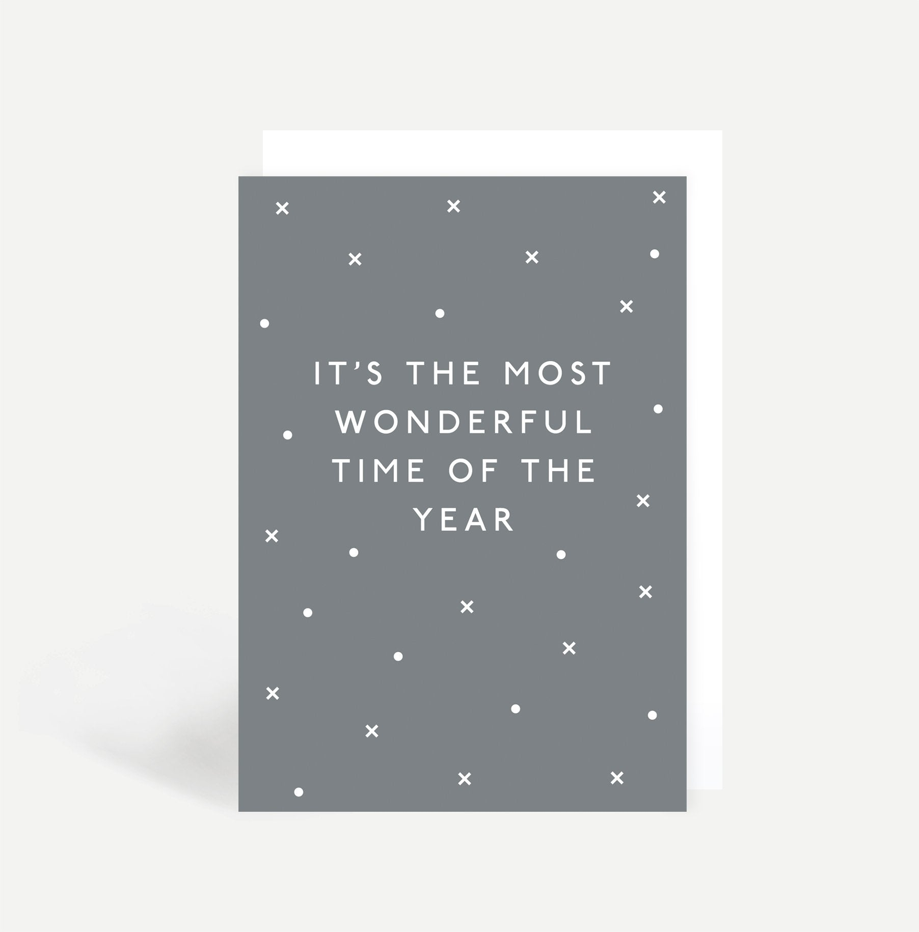 It's The Most Wonderful Time Of The Year Card