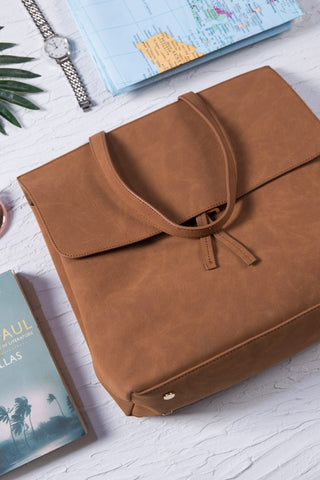 Brown Tote Bag