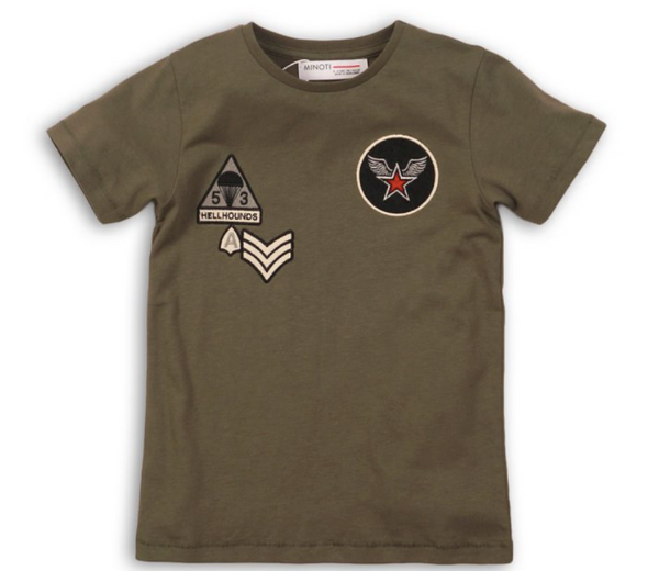Cadet Military T-Shirt - Playground Couture