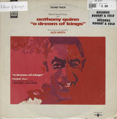 "Alex North - Anthony Quinn ""A Dream Of Kings"""