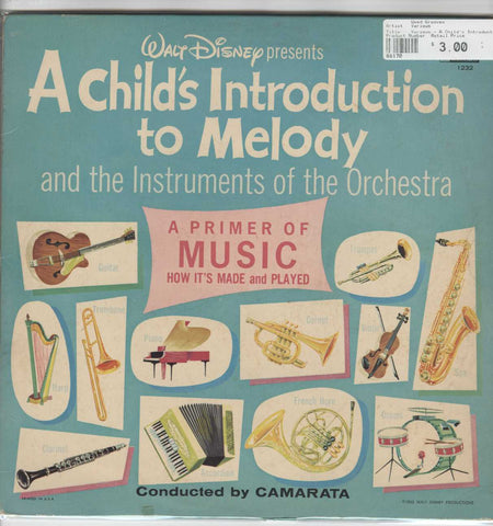 Various - A Child's Introduction To Melody And The Instruments Of The Orchestra