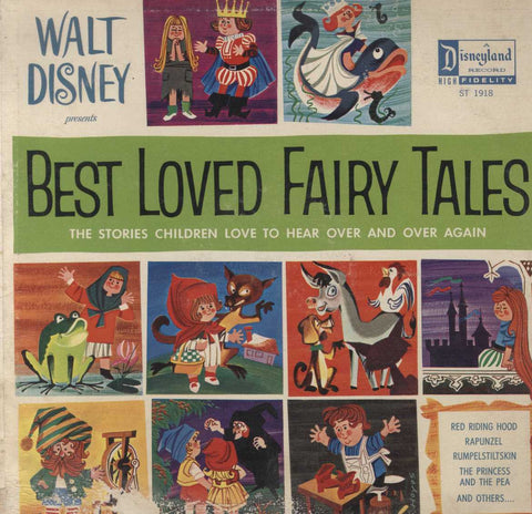 Rica Moore - Walt Disney Presents Best Loved Fairy Tales:  The Stories Children Love To Hear Over An