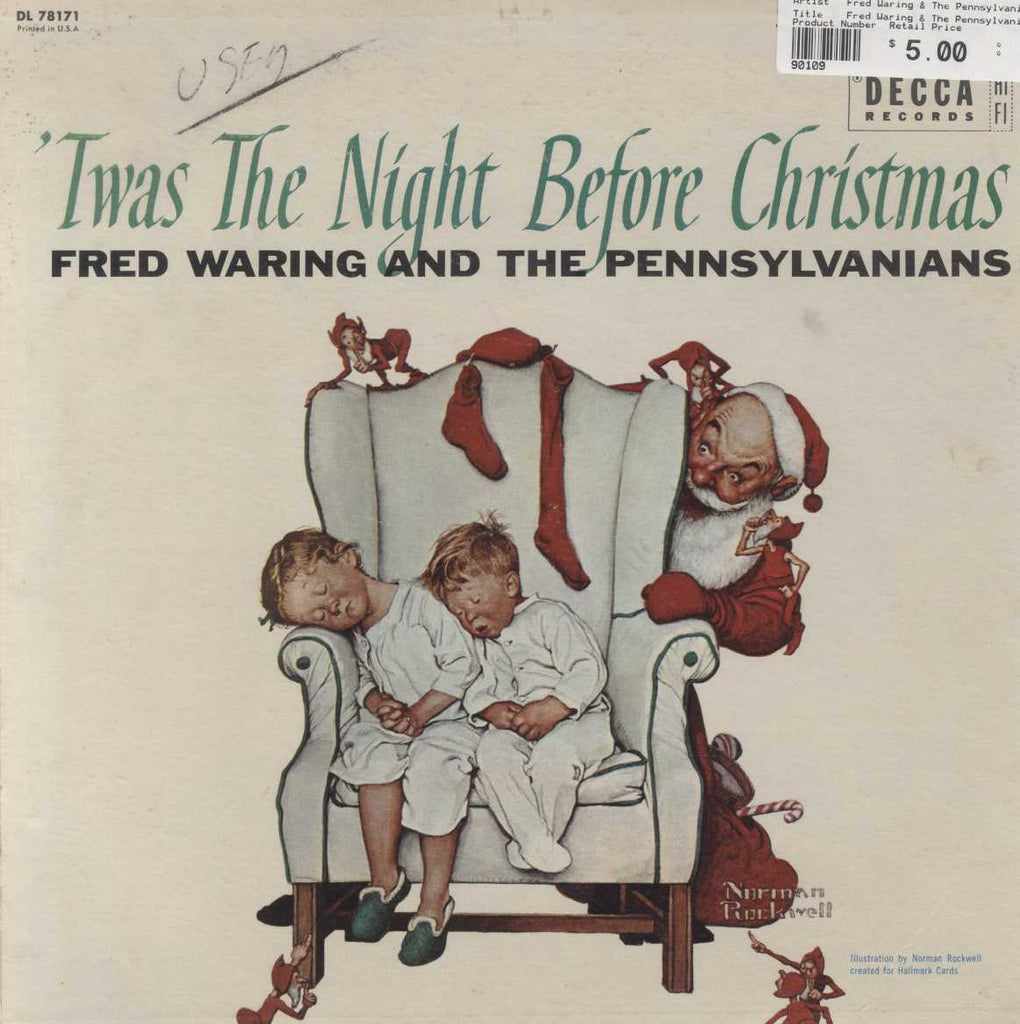 Fred Waring & The Pennsylvanians - 'Twas The Night Before Christmas