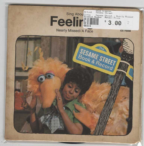 Sesame Street - Nearly Missed / A Face