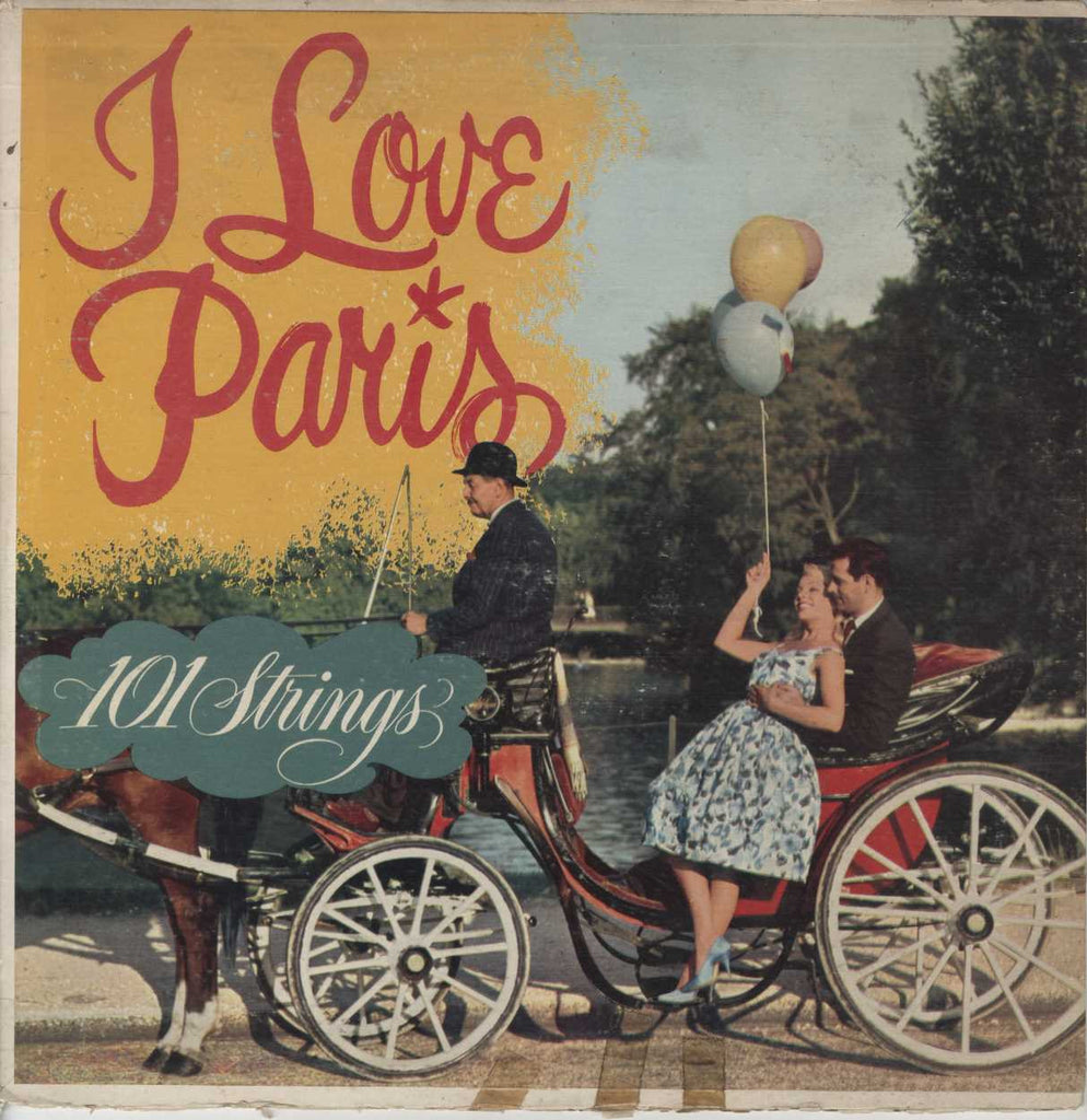 101 Strings - I Love Paris