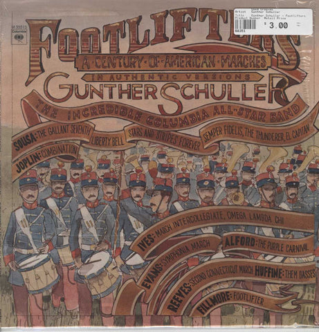 Gunther Schuller - Footlifters (A Century Of American Marches)