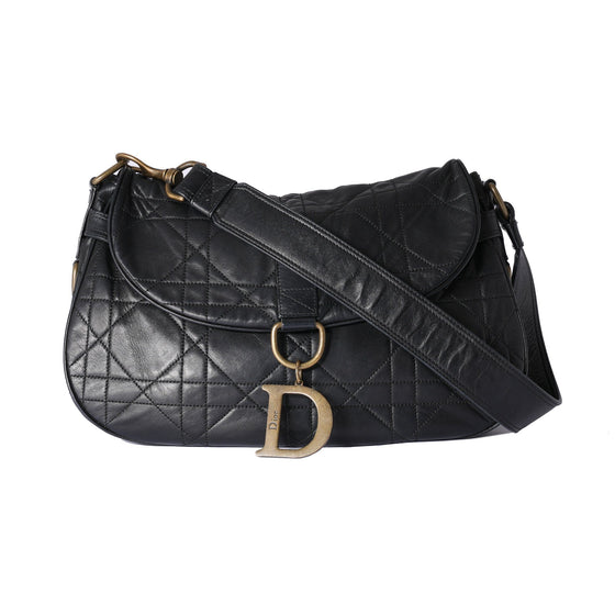 Christian Dior Cannage Vintage Flap Shoulder Bag Bags Dior
