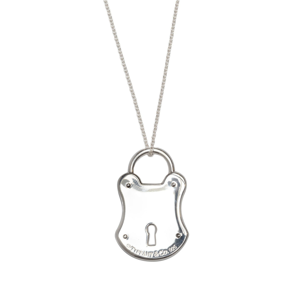 Tiffany & Co. Love Lock Charm Pendant Necklace Necklaces Tiffany & Co.