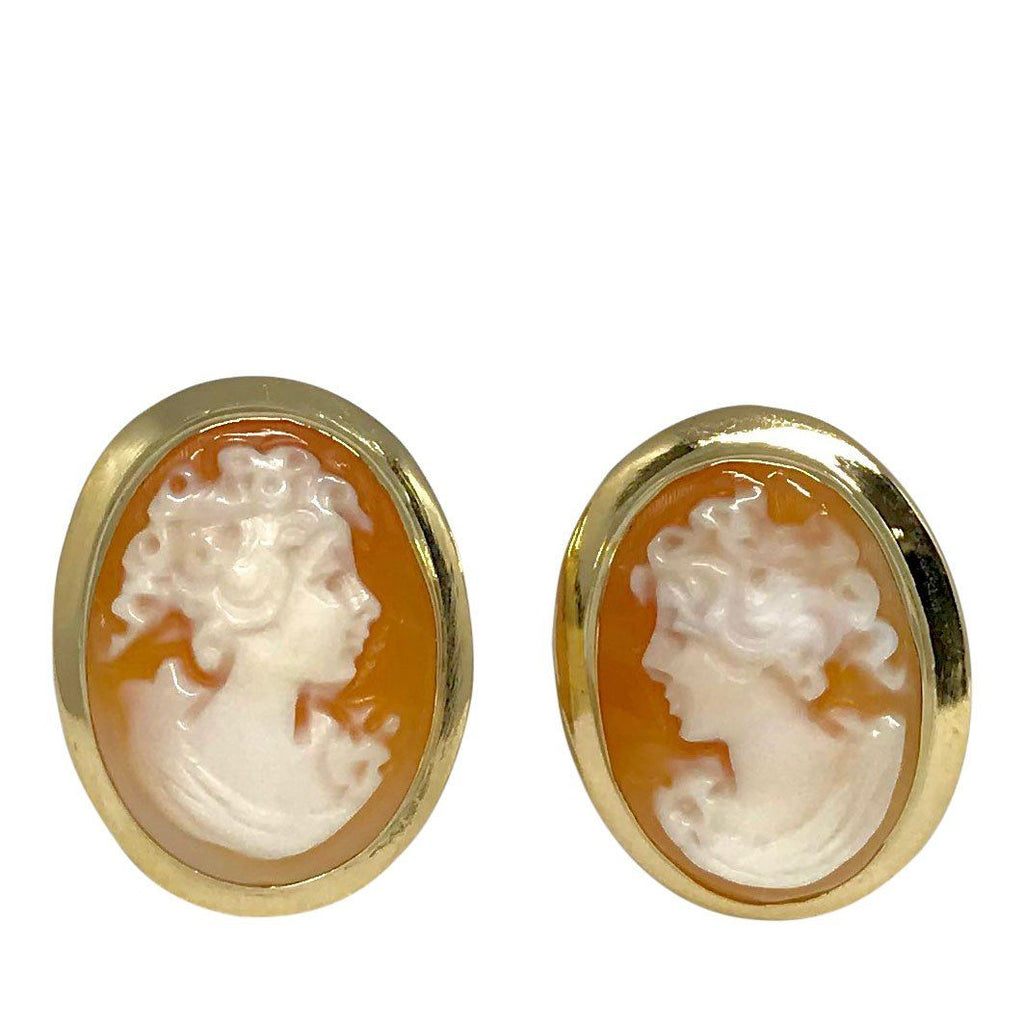 Antique Cameo Earrings Earrings Antiques