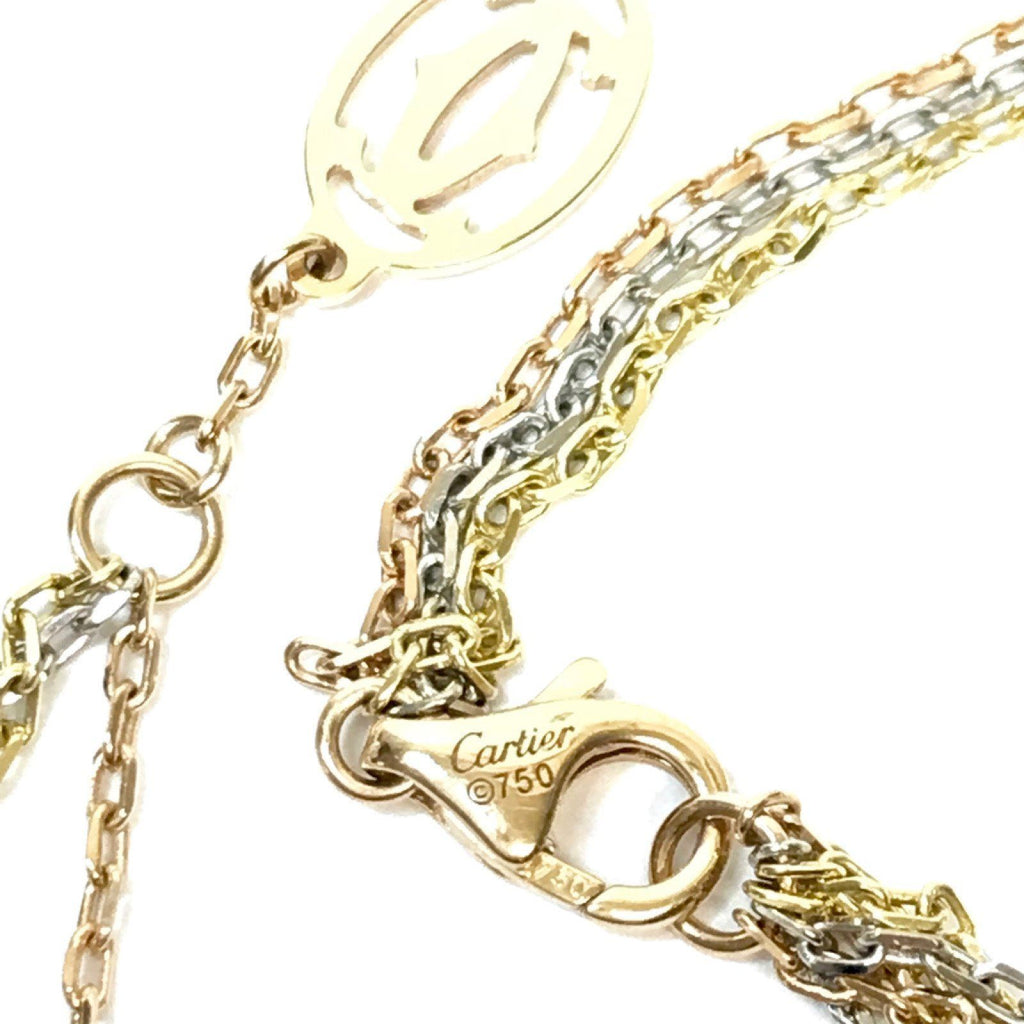 Cartier Three Strand Trinity Chain Necklaces Cartier