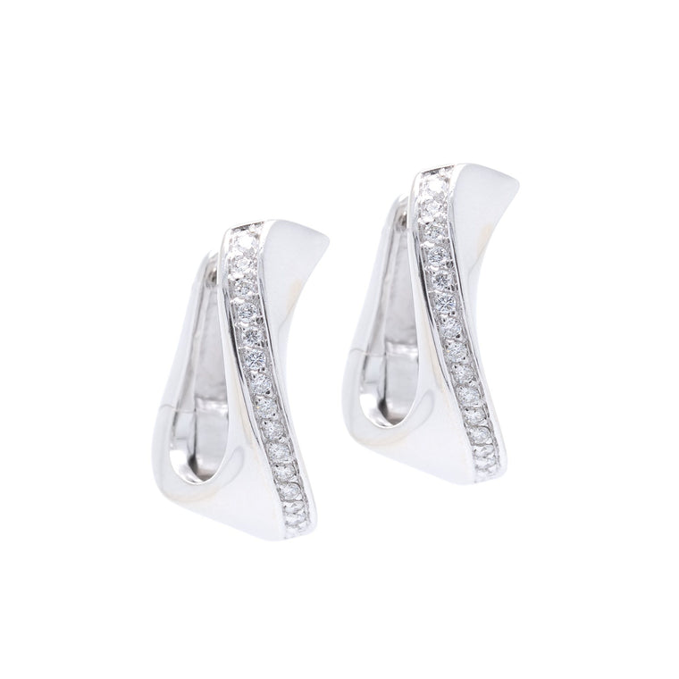 Diamond Huggy Earrings Earrings Miscellaneous