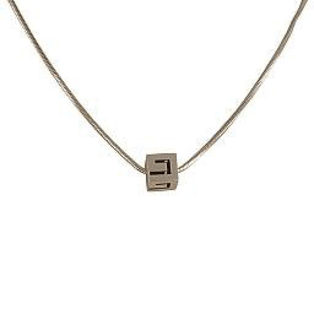 Gucci 'G' Cube Pendant Necklace Necklaces Gucci
