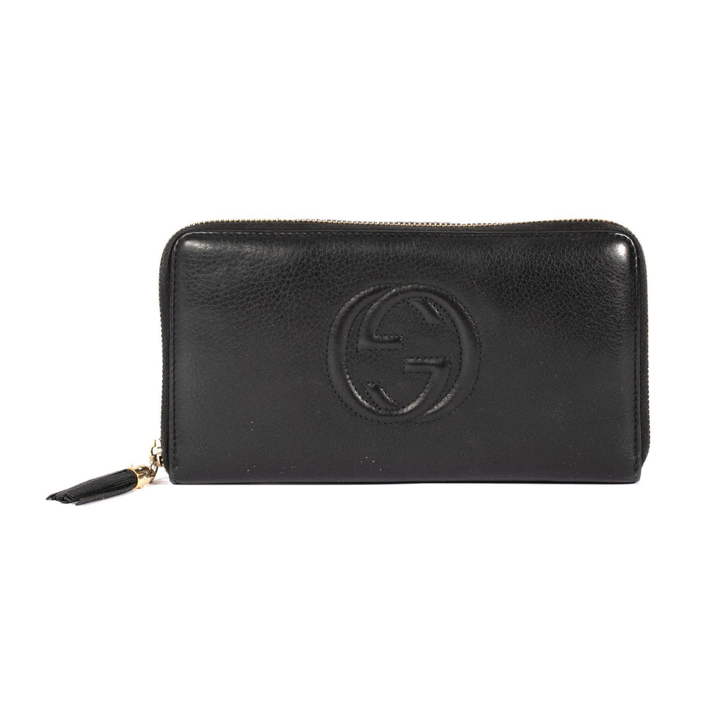 Gucci Soho Travel Zip-Around Wallet Wallets Gucci
