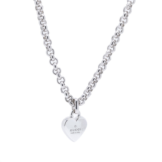 Gucci Trademark Heart Necklace Necklaces Gucci