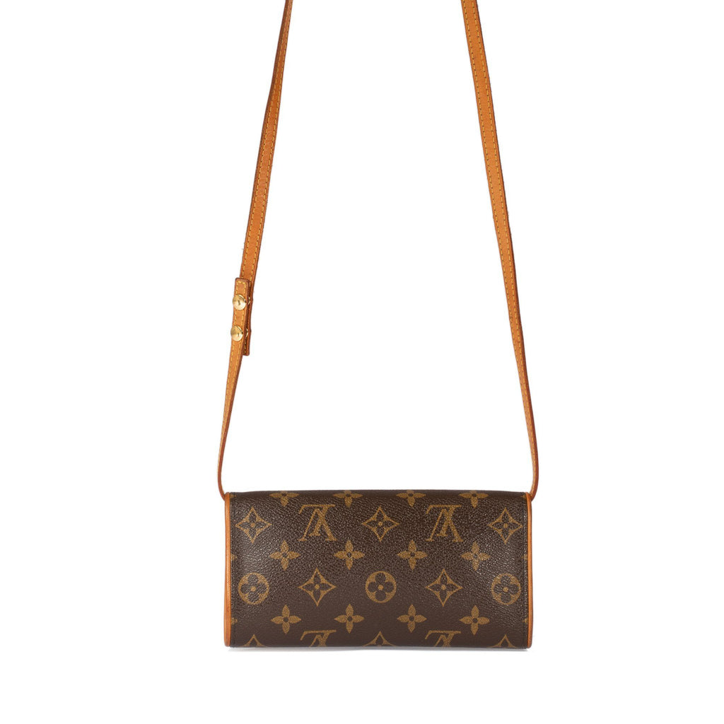 Louis Vuitton Monogram Pochette Twin PM Bags Louis Vuitton