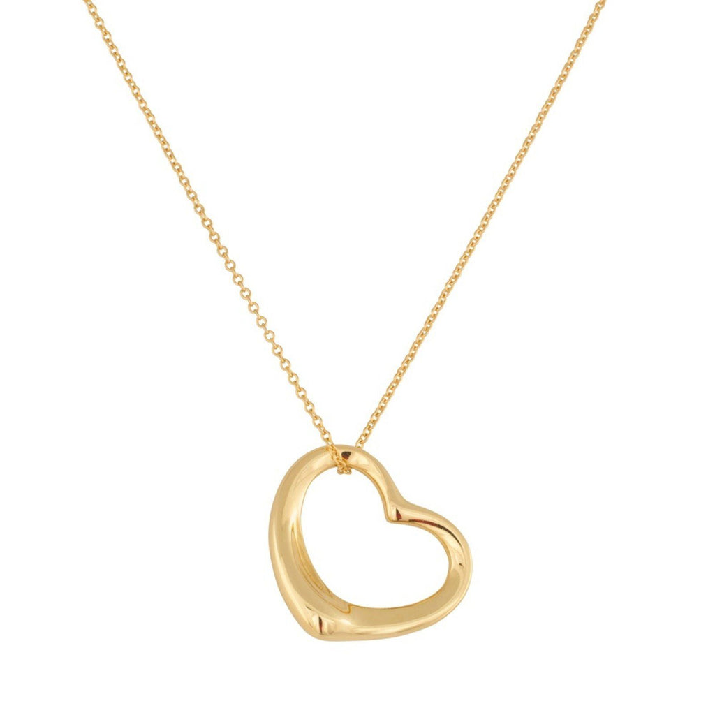 Tiffany & Co. Elsa Peretti Open Heart Pendant Necklace Necklaces Tiffany & Co.
