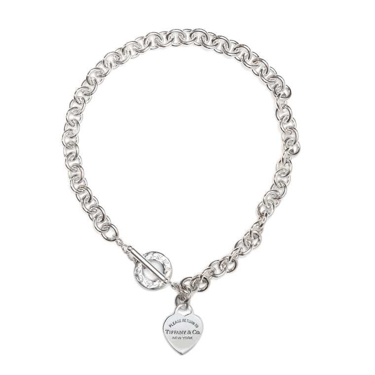 Tiffany & Co. Return to Tiffany Heart Tag Necklace with Toggle Clasp Necklaces Tiffany & Co.