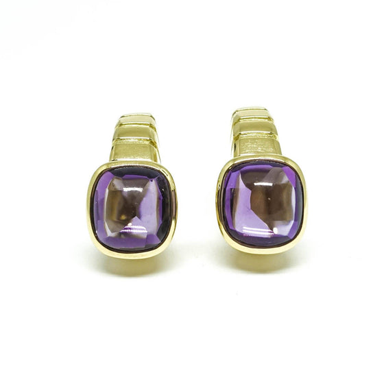 Van Cleef & Arpels Vintage Cabochon Amethyst Clip On Earrings Earrings Van Cleef & Arpels