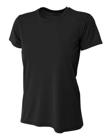 "Ladies ""VIENNA CHIEFS"" Design Cooling Performance Crew - Black"