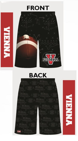 VIENNA FOOTBALL Custom Shorts with Pockets