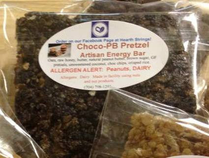 Dark Chocolate Peanut Butter Pretzel Energy Squares 6-Pack