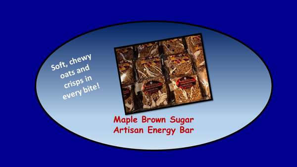 Maple Brown Sugar Energy Bar Half-Dozen