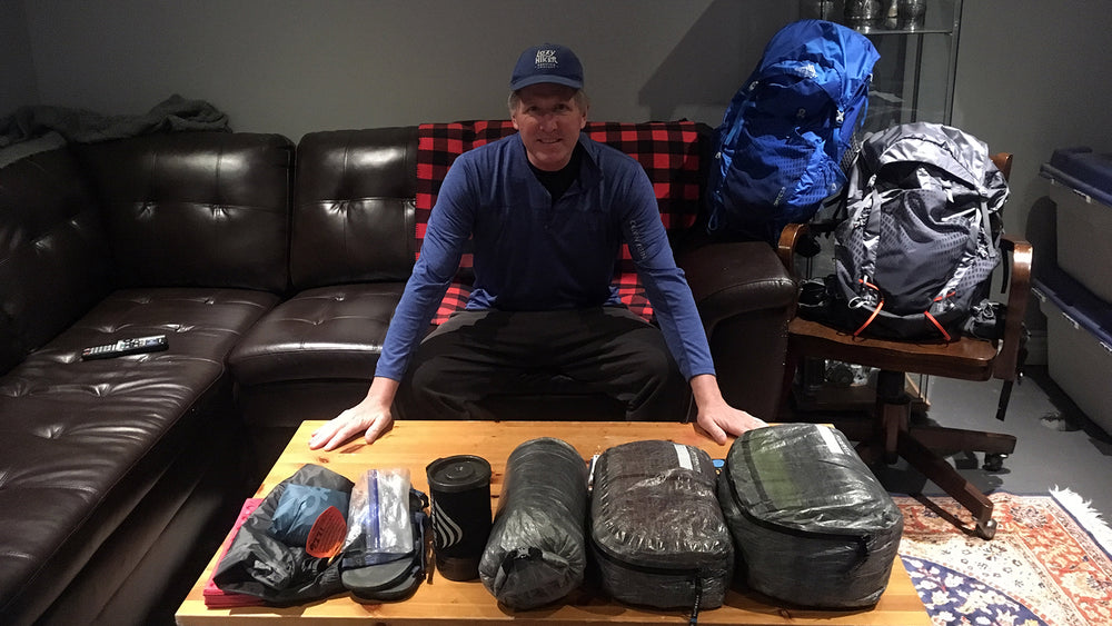 Selecting Pads and Packs with the Hiking Sailor