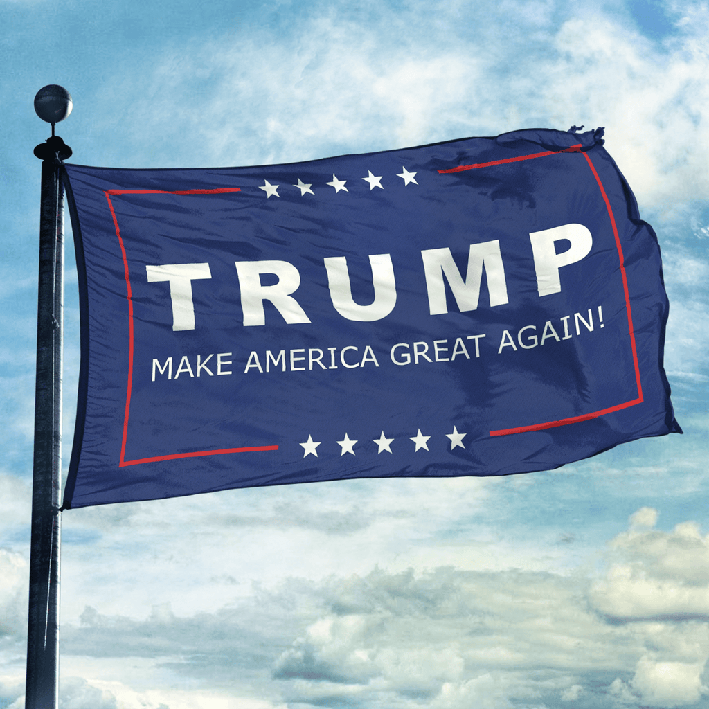 Make America Great Again Flag Greater Half