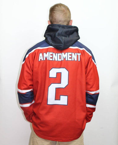 USA 2nd Amendment Hockey Jersey