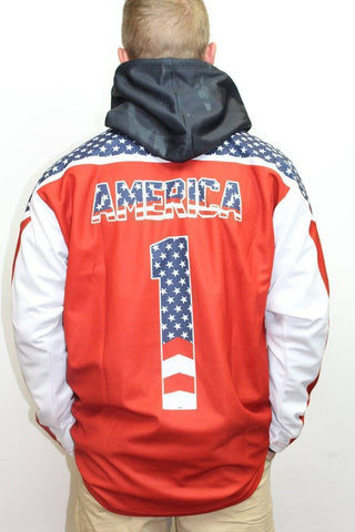 Liberty America #1 Hockey Jersey