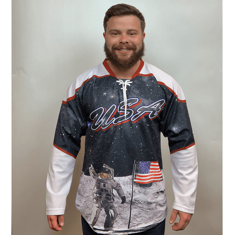 USA Galaxy Hockey Jersey