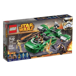 LEGO Star Wars 75091 Flash Speeder 75091 5 Minifigures Brand New Factory Sealed